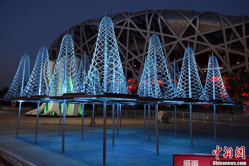 Des œuvres de la Biennale architecturale de Chine exposées à Beijing