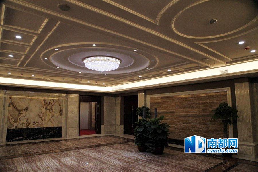 D couvrez l 39 int rieur de la tour ronde de guangzhou for Interieur de ronde