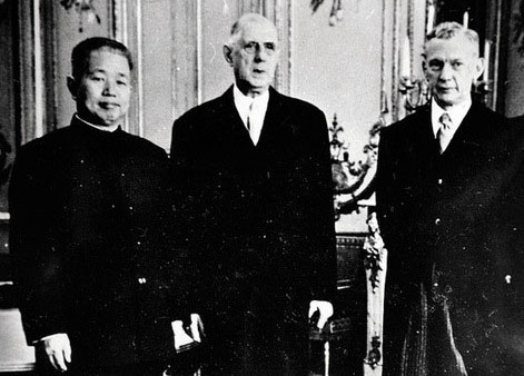 et l\'établissement des relations diplomatiques sino-franaises