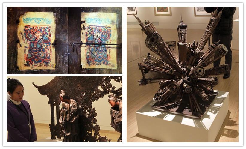 L'exposition du Nouvel An au Musée des beaux-arts de Chine