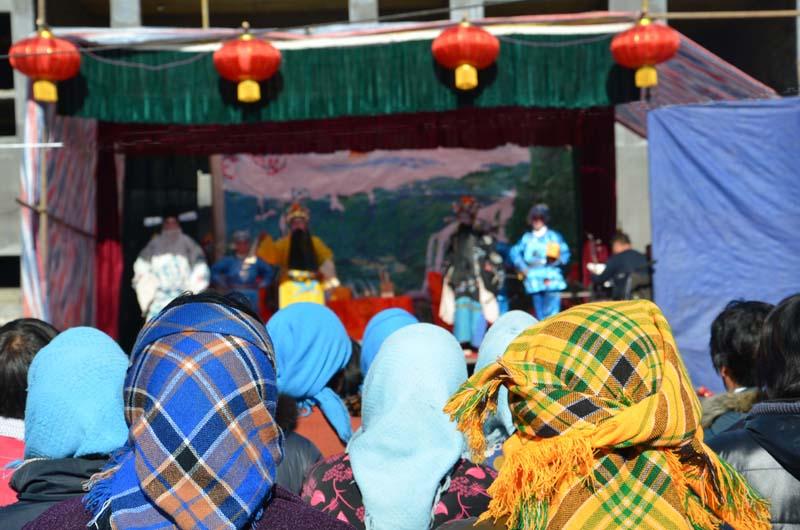 Dazhangzhuang : une pièce de théâtre à la campagne