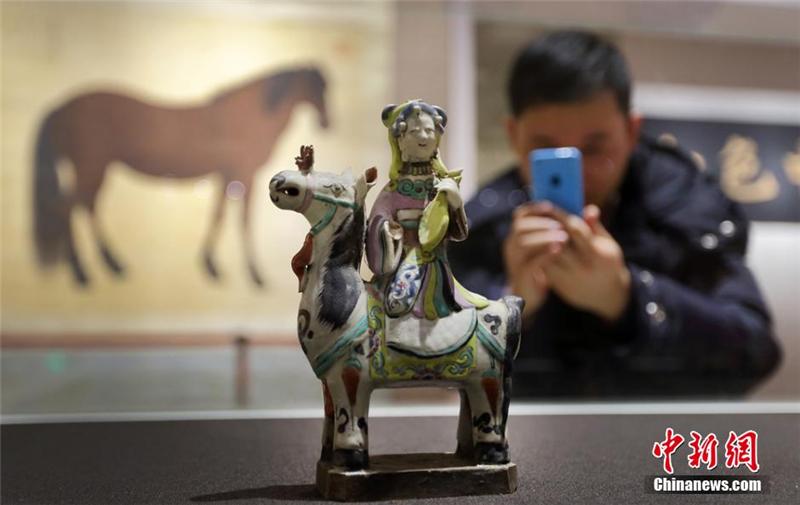 Une exposition sur le thème du cheval à Nanjing