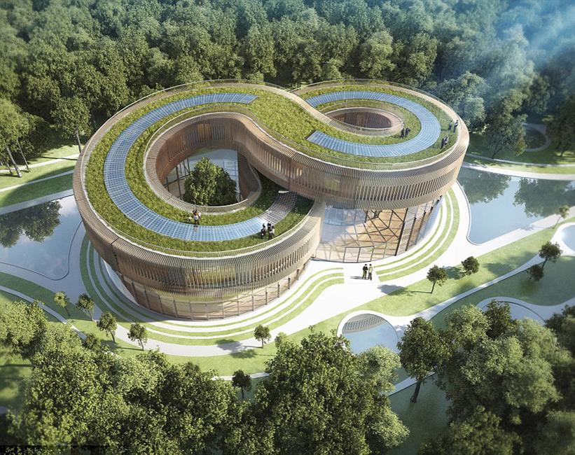 Top Un architecte belge conçoit une ville écologique futuriste en Chine PR35