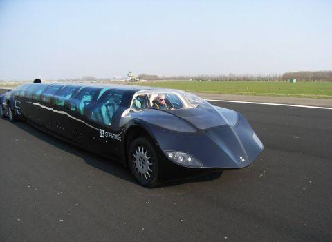 Dubaï lance le bus le plus rapide du monde