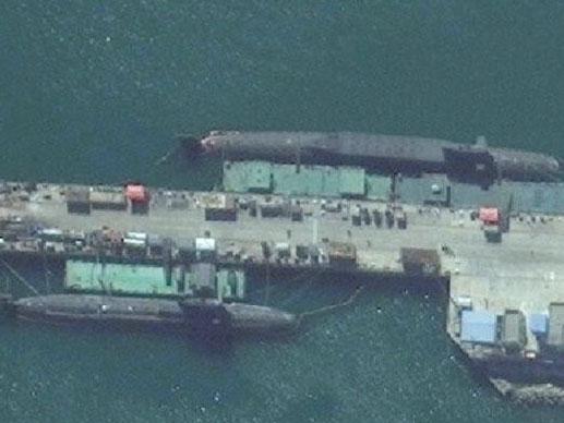 Dernières photos satellite des sous-marins nucléaires chinois 094