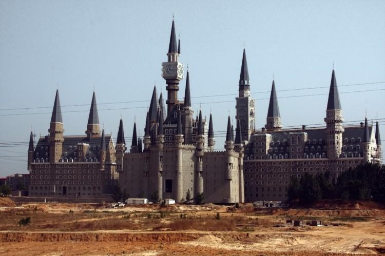 Chine : une réplique du château de Poudlard à Shijiazhuang