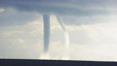 Neuf tornades apparues en 40 minutes sur le lac Qinghai
