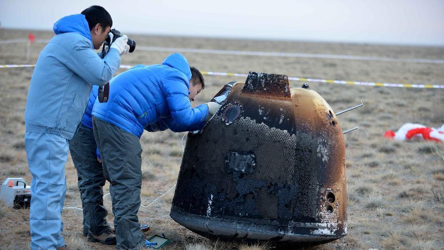 L'orbiteur lunaire chinois regagne la Terre avec succès
