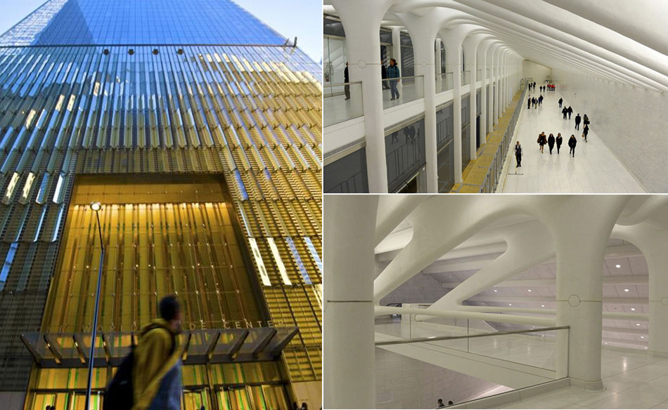 en images l int rieur du one world trade centre On interieur world trade center