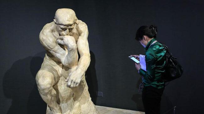 L'exposition « Rodin, l'œuvre d'une vie » au Musée national de Chine