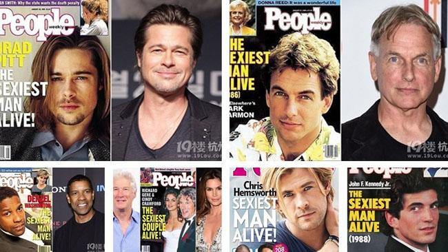 Les hommes les plus sexy du monde selon People