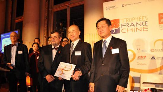 Trophées France-Chine : Air China remporte le prix de la coopération
