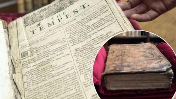 Un autre « Premier Folio » de Shakespeare retrouvé en France