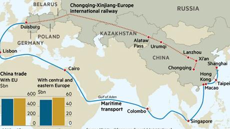 Une ceinture, une route : les nouvelles opportunités de la relation sino-française