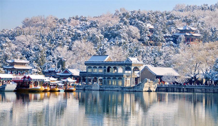 Les plus beaux paysages de beijing sous la neige for Les plus beaux lampadaires