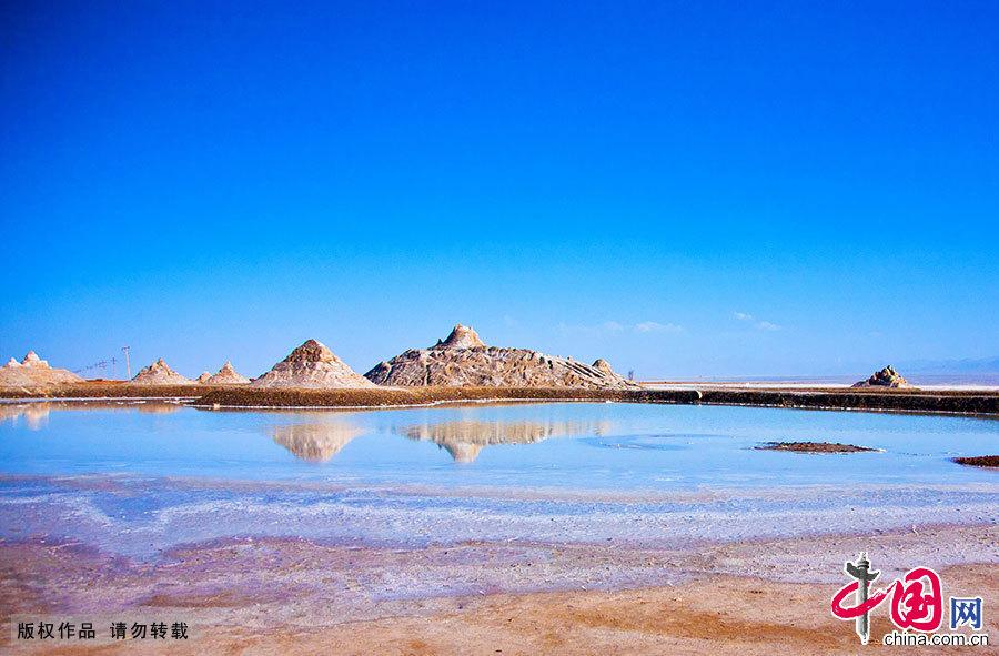 ... Haixi, dans la province du Qinghai (ouest), est un lac naturellement