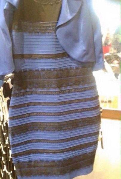 Débat sur la couleur de la robe photographiée sous un rare éclairage