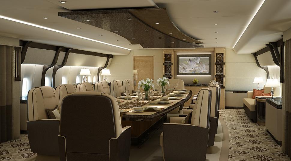 Le Plus Grand Jet Priv Du Monde Co Te 370 Millions De Dollars