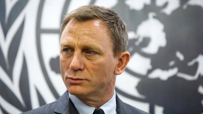 Daniel Craig, nouvel ambassadeur de l'ONU contre les mines