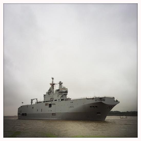 Exercices conjoints sino-français lors de la visite des Mistral en Chine