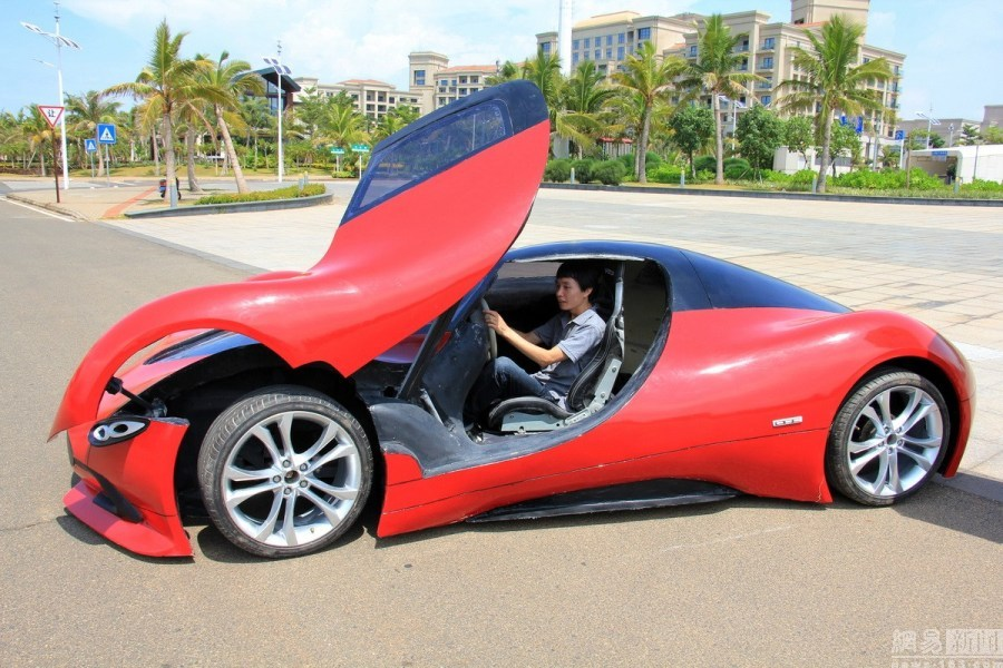 Chine : cette voiture électrique au look futuriste fait le buzz