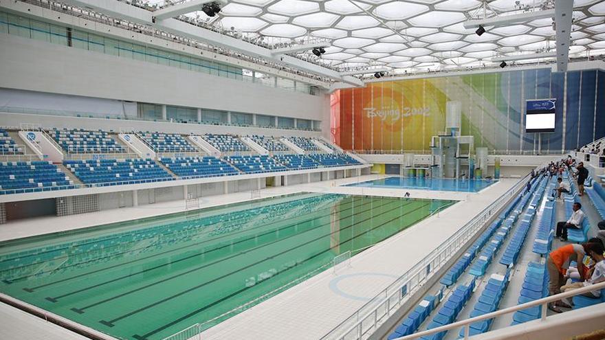 Beijing : le stade de Wukesong et le Cube d'eau pour les JO 2022