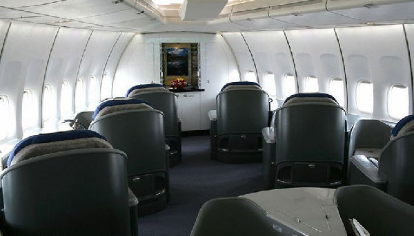 A l 39 int rieur de l 39 air force one chinois for A l interieur des gentils