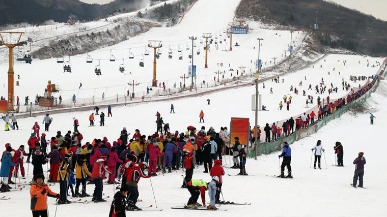 Beijing : ouverture du Festival de neige et de glace de Pinggu