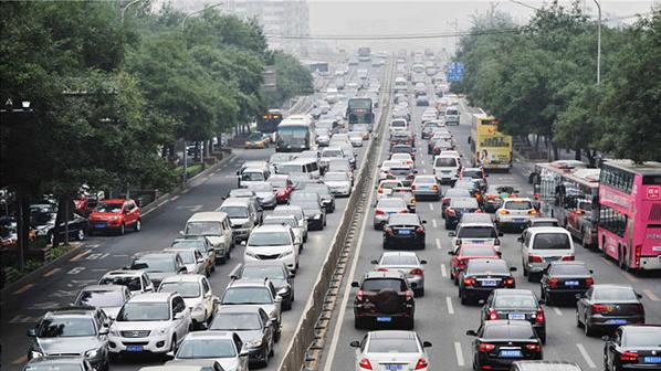 Le projet de circulation alternée à Beijing obtient peu de soutien