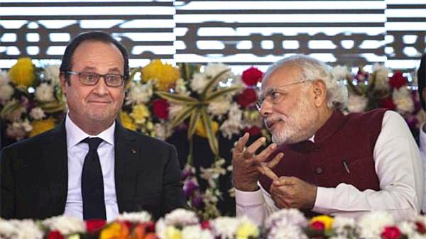 François Hollande de retour à New Delhi pour finaliser le contrat Rafale
