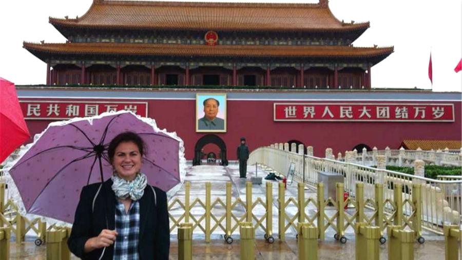 Etudiante allemande, elle veut faire connaître la « vraie Chine » aux Européens