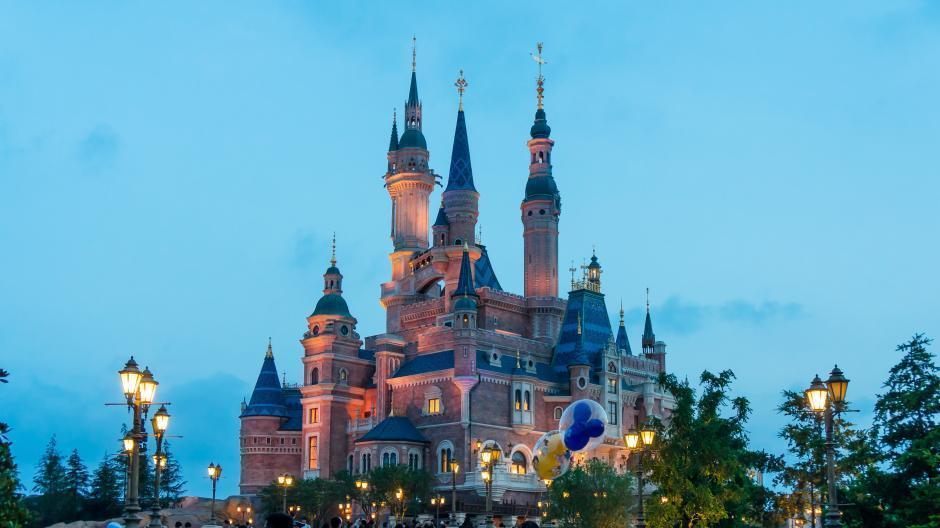 Photos : le château de Disneyland Shanghai à différents moments de la journée