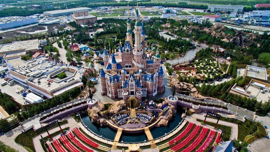Disneyland Shanghai : tout est prêt pour la cérémonie d'ouverture