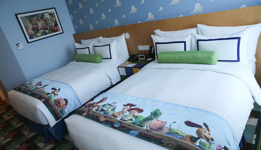 Découvrez les deux hôtels de Disneyland Shanghai