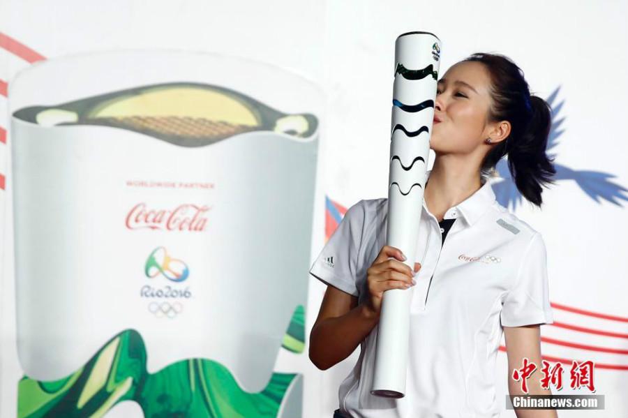 Des célébrités chinoises participeront au relais de la flamme olympique au Brésil