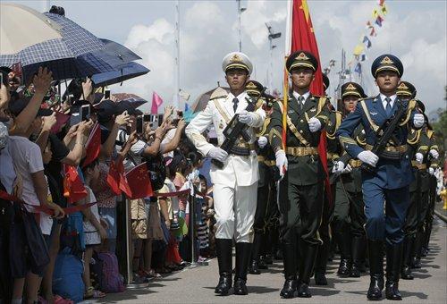 Hong Kong célèbre le 19e anniversaire de sa réunification
