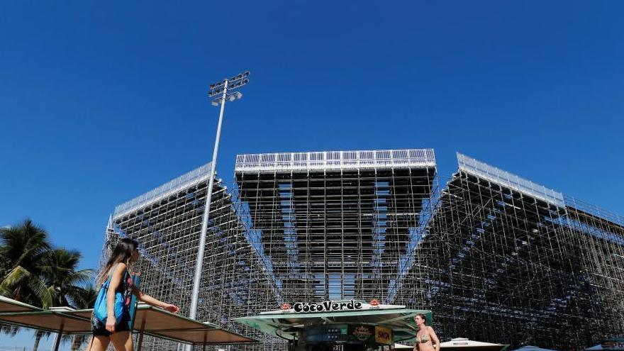 JO de Rio : les travaux se poursuivent dans les stades