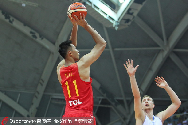 Basket : la Chine bat la France 75-70