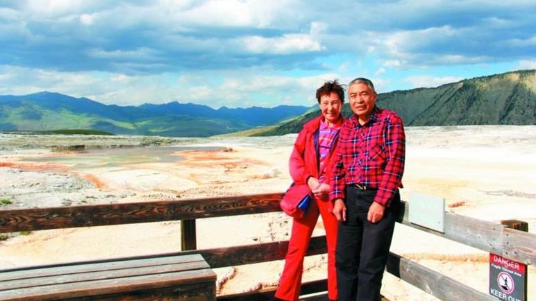 Un couple de retraités montre que l'âge n'est pas un obstacle pour faire le tour du monde