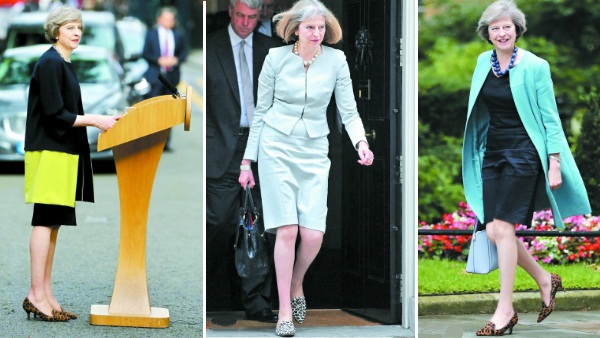 Apprendre à s'habiller pour le travail avec Theresa May