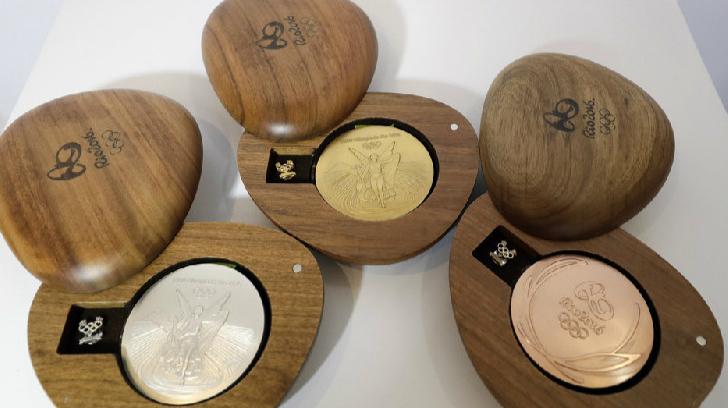 Les médailles « recyclées » des JO de Rio