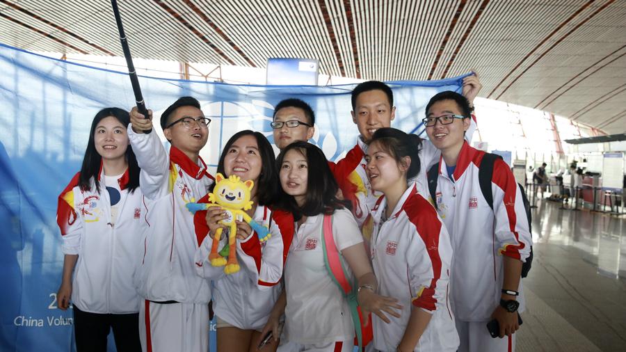 Les volontaires chinois sont prêts pour Rio
