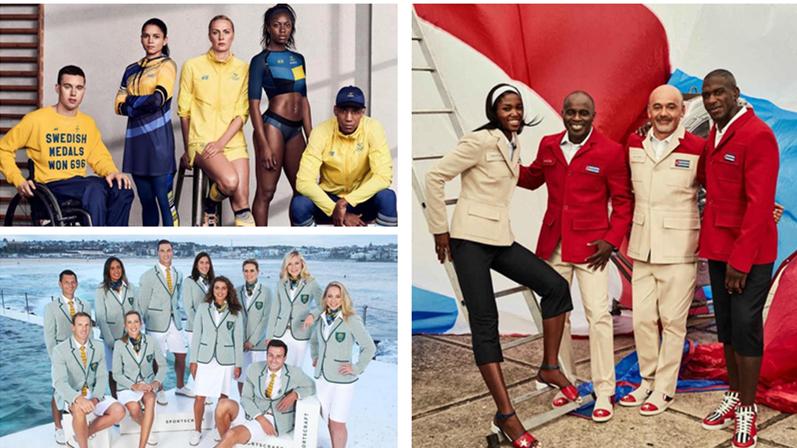 Les délégations présentent leurs tenues pour les JO de Rio