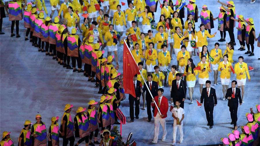 La Chine espère obtenir de 30 à 36 médailles d'or aux Jeux Olympiques de Rio