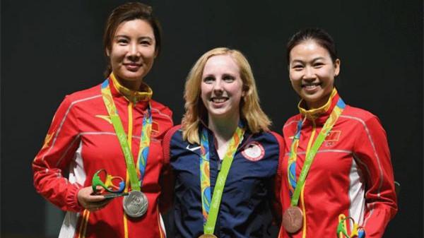 L'Américaine Virginia Thrasher remporte la première médaille d'or des JO de Rio