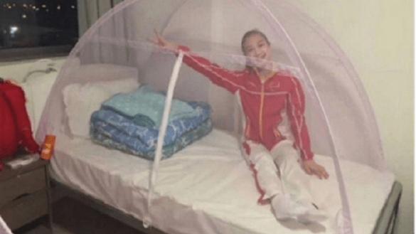JO 2016 de Rio: les moustiquaires chinoises font fureur chez les athlètes