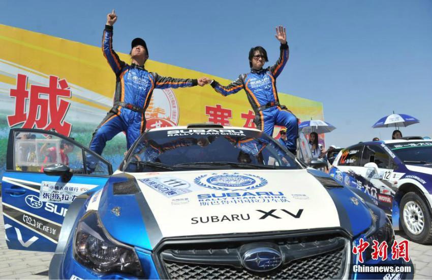 Championnat d'Asie-Pacifique des rallyes : Han Han finit deuxième à Zhangye