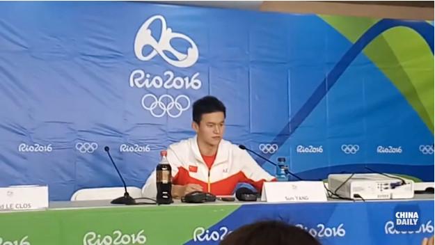 Victoire renversante de Sun Yang au 200 m nage libre