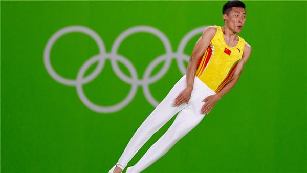 L'argent et le bronze pour les Chinois Dong et Gao au trampoline masculin