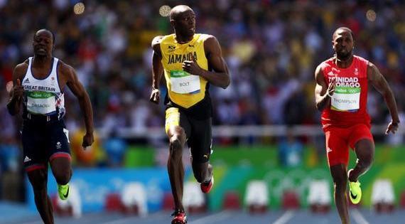 JO de Rio : Usain Bolt remporte le 100 mètres en 9''81